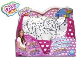 Cife Color Me Mine Rózsaszín színezhető parti táska