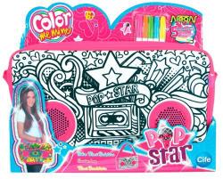 Cife Color Me Mine Színezhető nagy oldaltáska