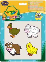 Crayola Mini Kids - Óriás állatos matricás foglalkoztató