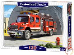 Castorland Amerikai tűzoltóautó 120 db-os (B-12831)