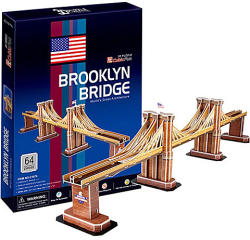CubicFun Brooklyn-híd 3D puzzle 64 db-os