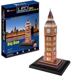 CubicFun Big Ben világító 3D puzzle 28 db-os
