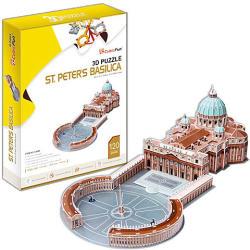 CubicFun Szent Péter Bazilika 3D puzzle 120 db-os