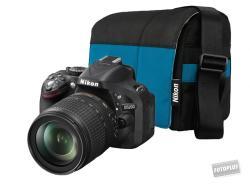 Nikon D5200 + 18-140mm VR