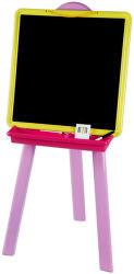 Smoby 2 oldalas műanyag tábla rózsaszín (28050)