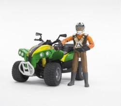 BRUDER Quad sofőrrel (63000)