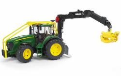 BRUDER John Deere 7930 erdészeti traktor rönkrakodóval (BR 03053)