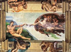 Clementoni Michelangelo Buonarroti: Ádám teremtése 6000 db-os