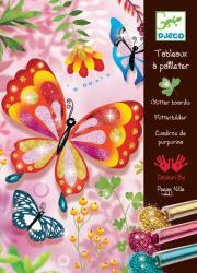 DJECO Csillámtechnika - Pillangók