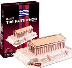 CubicFun Parthenón 3D puzzle 25 db