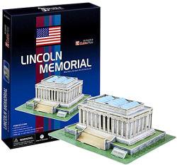 CubicFun Lincoln-emlékmű 3D puzzle 72 db (C104H)