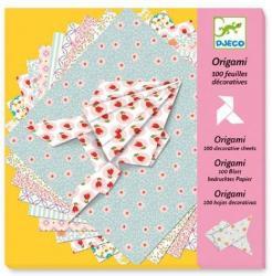 DJECO Origami papírhajtogatás 100 db-os (DJ08770)