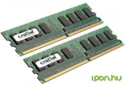 Crucial 4GB DDR2 800MHz CT2KIT25664AA800