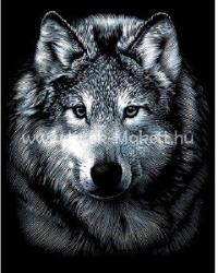 Reeves Ezüst képkarcoló - A farkas