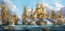 Castorland Tengeri csata 4000 db-os