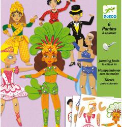 DJECO Mozgatható figurák - Táncosok (DJ09681)