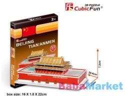 CubicFun Beijing - Tian'anmen tér 3D 23 db-os (S3004H)