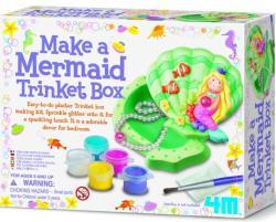4M Ékszeresdoboz készítő kreatív szett - kagyló-sellő