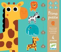 DJECO A dzsungelben 3 az 1-ben puzzle (7135)