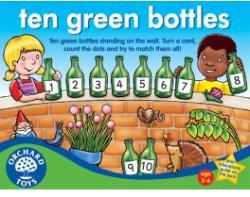 Orchard Toys Tíz kicsi zöld üveg