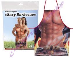 Szexi Barbecue grill kötény