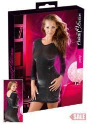 Cottelli Csillogó ruha feketeezüst