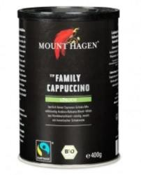 Mount Hagen Bio Family Cappuccino, Instant, 400g