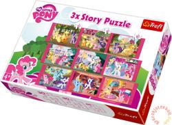 Trefl My Little Pony: Én kicsi pónim 390 db-os 3 történet (90307)
