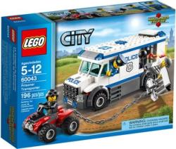 LEGO City - Rabszállító 60043