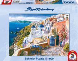 Schmidt Spiele Santorini látkép 1000 db-os (58560)