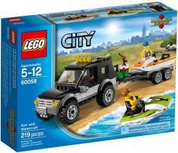 LEGO City - Vontató autó és jet ski (60058)