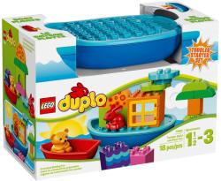 LEGO Duplo - Építőjáték és hajó kicsiknek (10567)