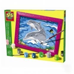 SES Festés számok szerint - delfines (01511)