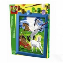 SES Festés számok szerint - Vágtázó lovak (01521)