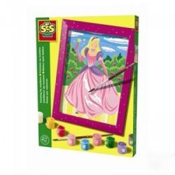 SES Festés színek szerint - hercegnős (01514)