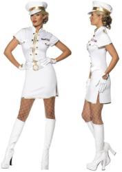 Női tengerész kapitány jelmez