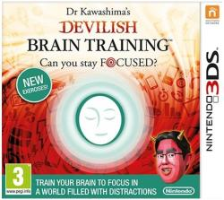 Nintendo Dr Kawashima's Devilish Brain Training Can You Stay Focused? (3DS)