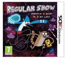Namco Bandai Regular Show Mordecai & Rigby in 8-Bit Land (3DS)