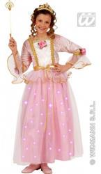Widmann Világító rózsaszín hercegnő - 140cm-es méret (55787)