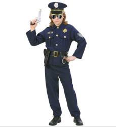 Widmann Sötétkék rendőr - 140cm-es méret (73167)