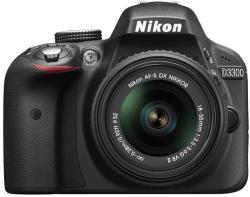 Nikon D3300 + 18-55mm VR II (VBA390K001)