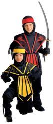 Widmann Harcos ninja jelmez - 158cm-es méret (38498)
