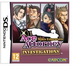 Capcom Ace Attorney: Investigations Miles Edgeworth 2. (Nintendo DS)