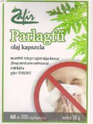 Zafír Parlagfű olaj kapszula - 60db