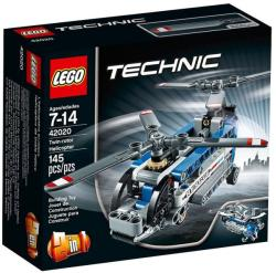 LEGO Technic - Ikermotoros helikopter (42020)