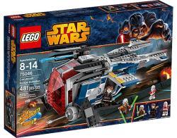 LEGO Star Wars - Coruscant rendőrségi hadihajó (75046)