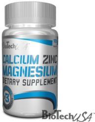 BioTechUSA Calcium Zinc Magnesium (100db)