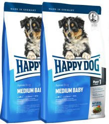Happy Dog Supreme Medium Baby 28 2 x 10kg