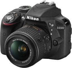 Nikon D3300 + 18-55mm DX II