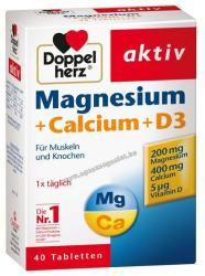 Doppelherz Aktív Magnézium +Kalcium +D3 (40db)